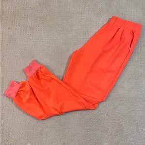 🧡Women's Rehab Bright Neon Orange Joggers🧡